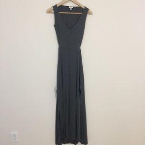 Dynamite open back maxi dress